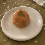 Risotto met flinterdunne rauwe ham en courgette